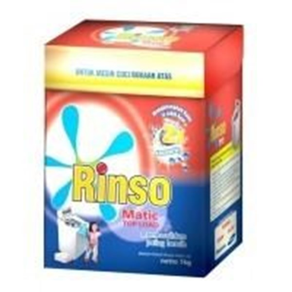 rinso matic box