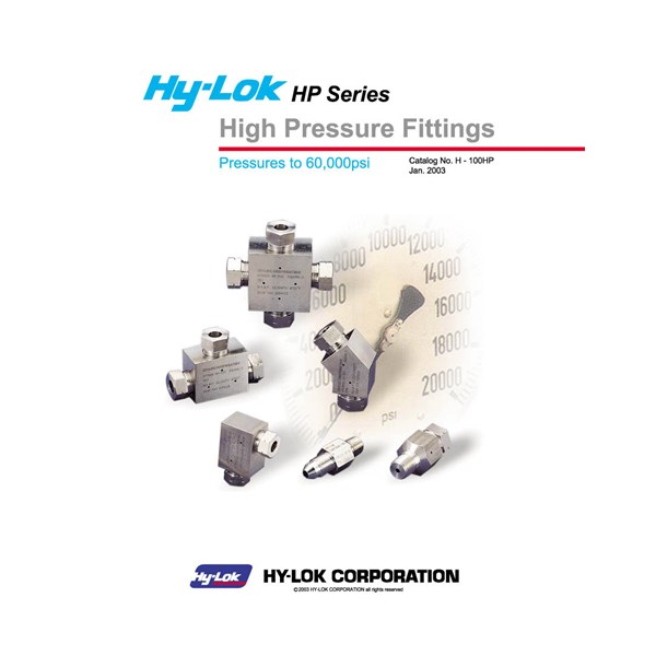 hy-lok hp fittings