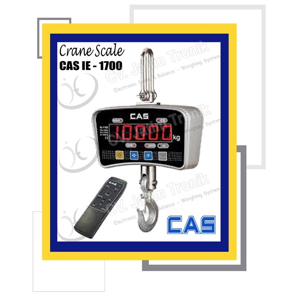 crane scale cas ie-1700-1