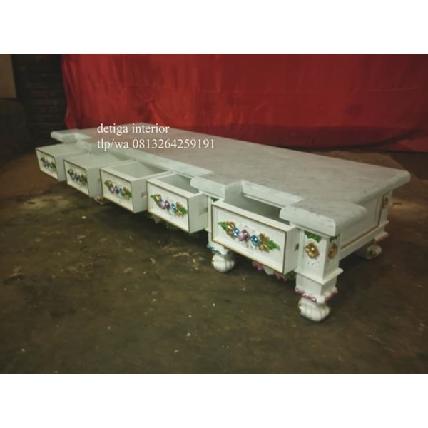 jual tv cabinet top marble-1