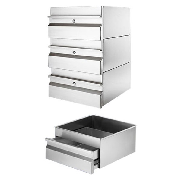 laci stainless / stainless steel drawer