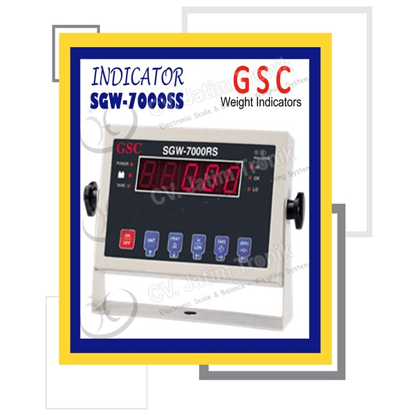 indicator gsc sgw 7000ss