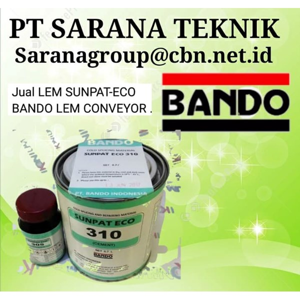 pt sarana teknik eco sunpat lem bando for conveyor belt-1