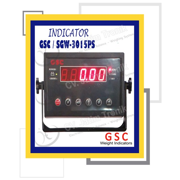 indicator gsc sgw 3015ps