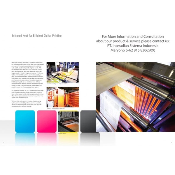heraeus infrared halogen for drying in printing industry-5