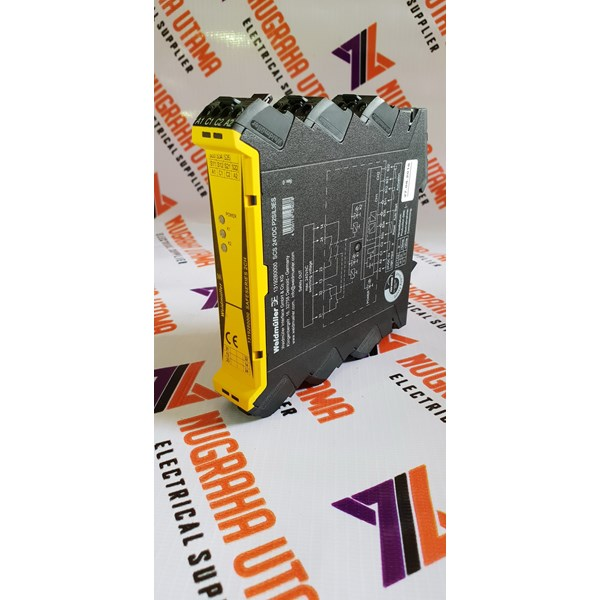 weidmuller scs 24vdc p2sil3es safety relay-1