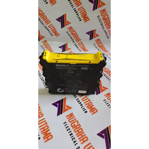 weidmuller scs 24vdc p2sil3es safety relay-6