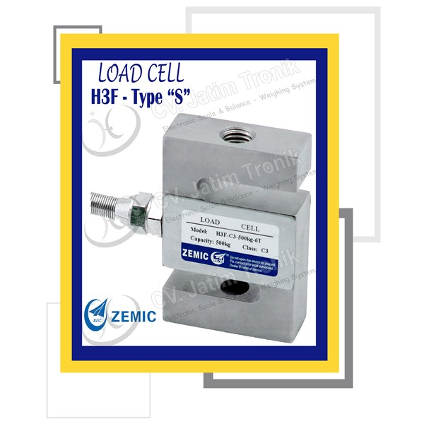 load cell type s zemic h3f
