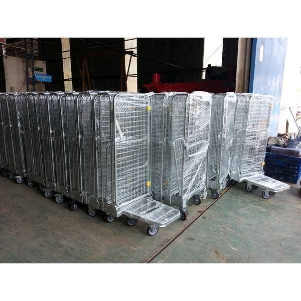 roll cage trolley-4