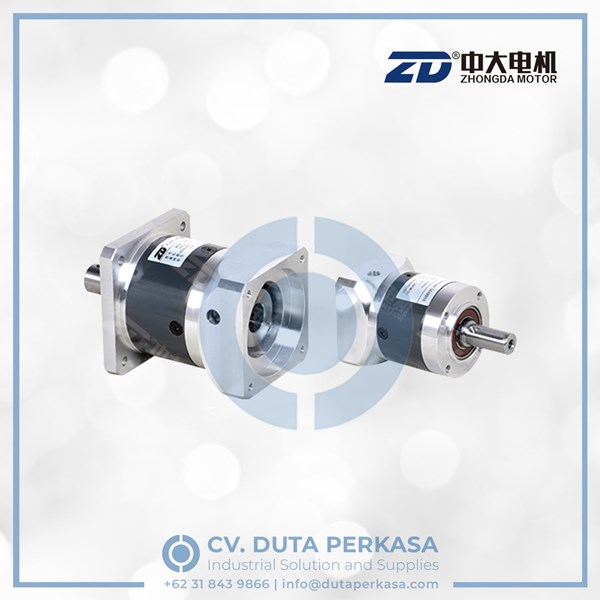 zhongda high precision planetary gearbox type zde(f) series