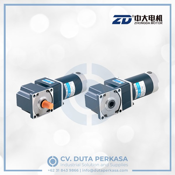 zhongda dc gear motor spiral bevel right angle z5d40 series