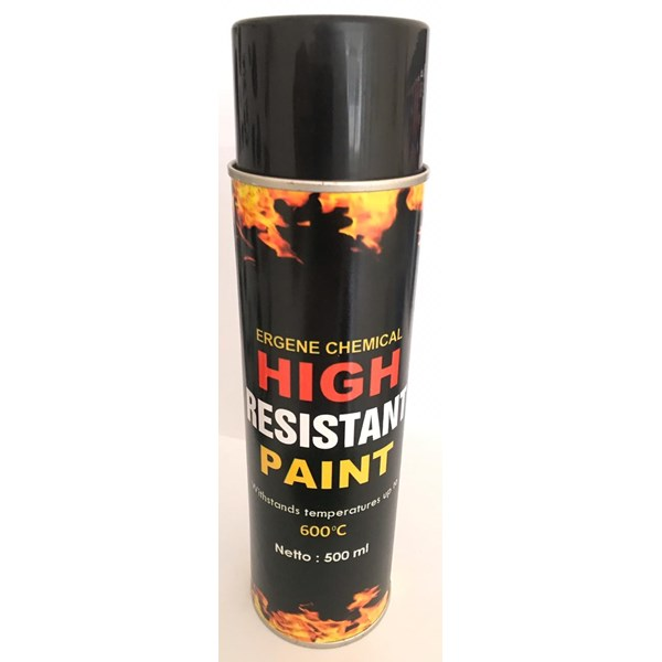 cat tahan panas,600 derajat celsius - heat resistan paint