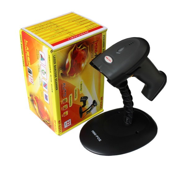 barcode scanner laser auto mp626a