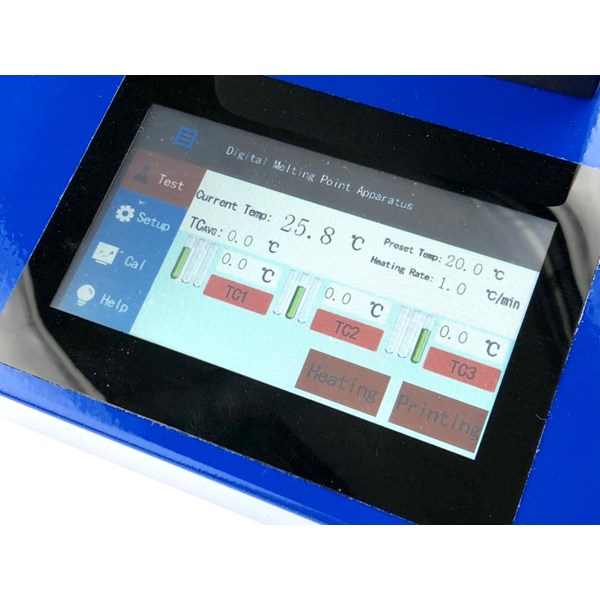melting point touch screen dmp-600-1