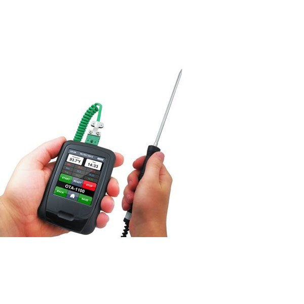 touch screen thermometer spot check and data logger-2