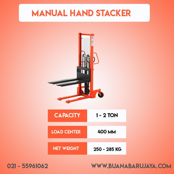 jual manual hand stacker forklift-1