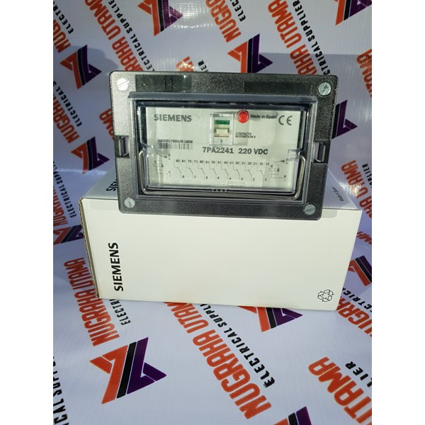 siemens 7pa2241-1 220vdc lock out relay-2