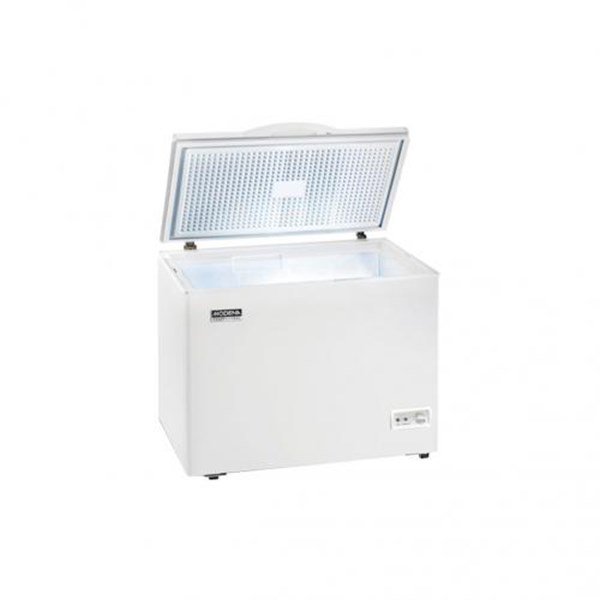 chest freezer box modena md10w murah