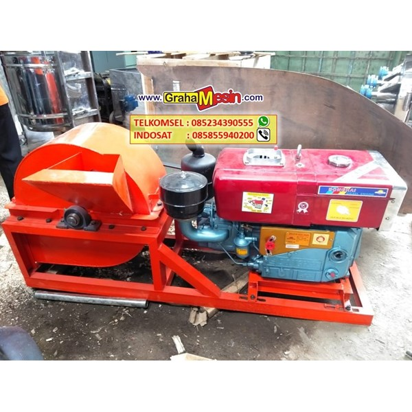 mesin wood crusher mini murah super cepat-1