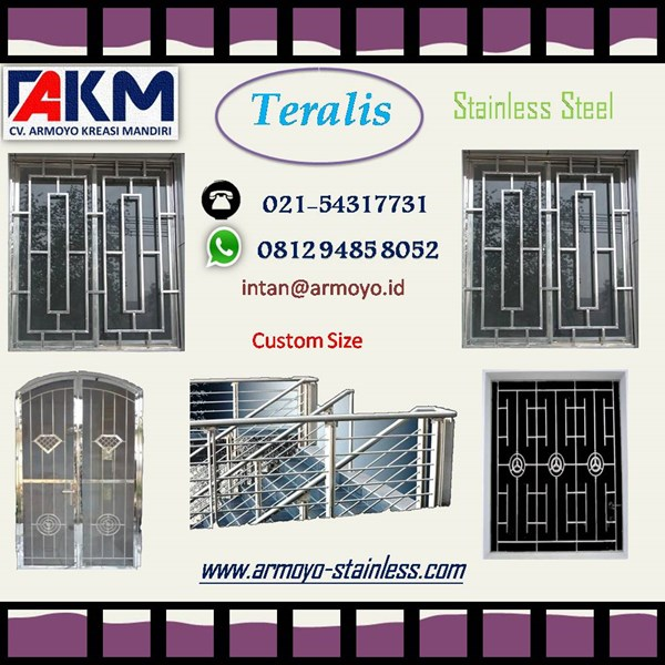 tralis stainless steel