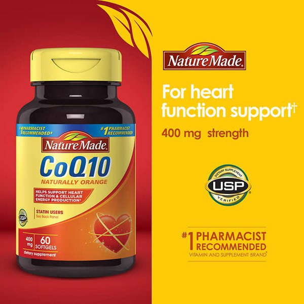 nature made coq10 400 mg., 60 softgels.-7