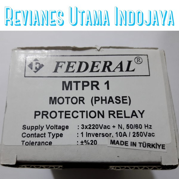 federal mtpr 1 motor protection relay-2