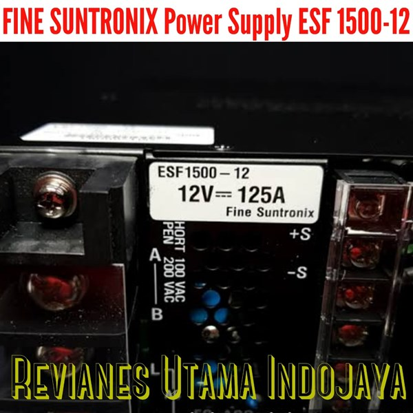 fine suntronix power supply esf1500-12-7