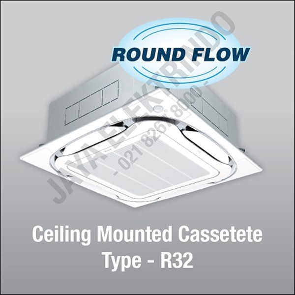 ceiling mounted cassette 6 pk wired y (fcf140cvm4)