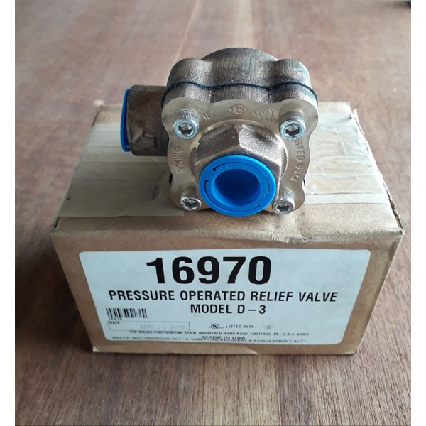 pressure operated relief valve d3