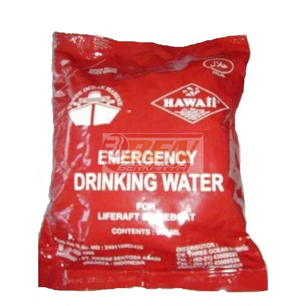emergency drinking water (minuman darurat)