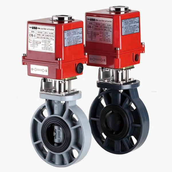 electric motorized/ actuator butterfly valve-3