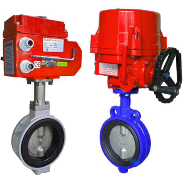 electric motorized/ actuator butterfly valve-2