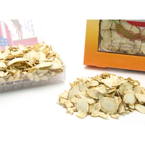 cultivated mixed large-medium slices american ginseng.-4