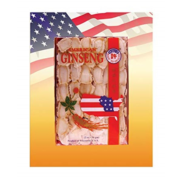 cultivated mixed large-medium slices american ginseng.-5