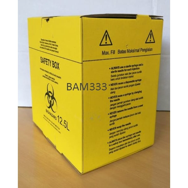 disposable safety box-1