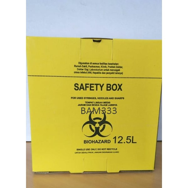 disposable safety box-2
