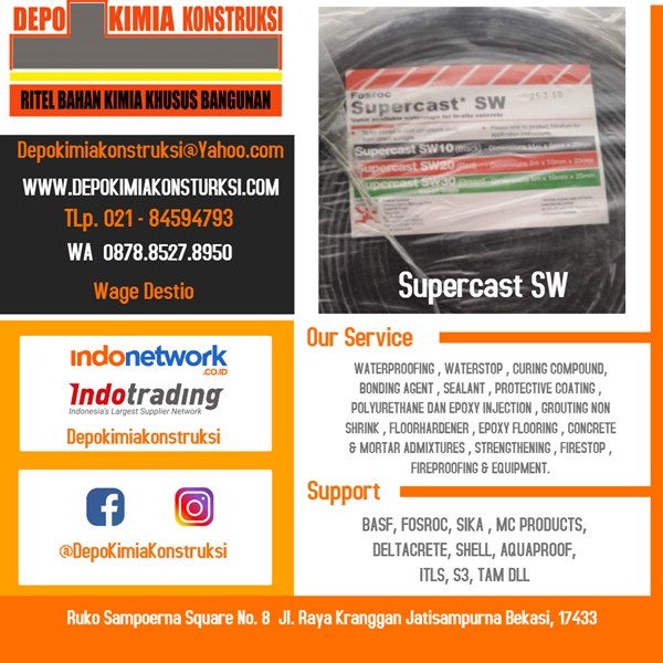 supercast sw waterproofing