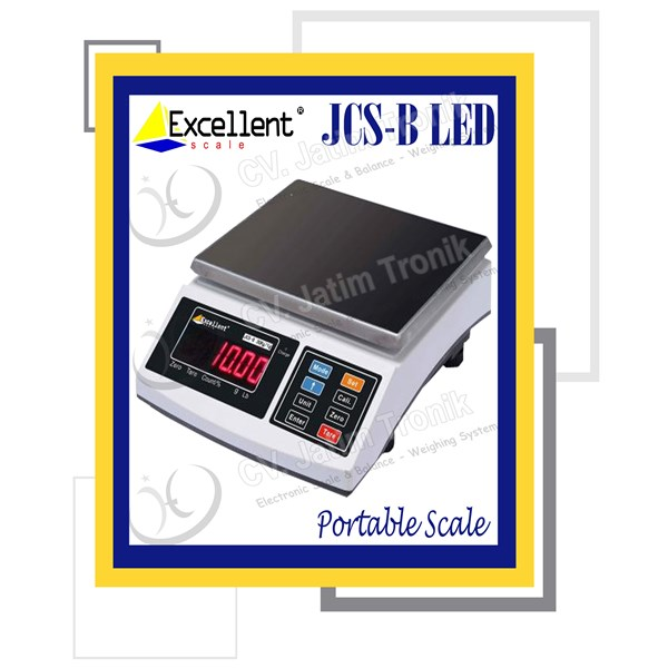portable scale jcs b led