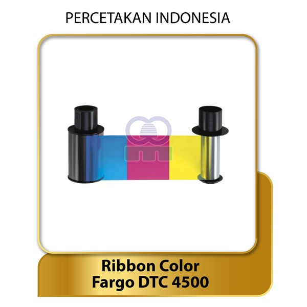 ribbon color ymcko - fargo dtc4500 - suku cadang tinta printer-1