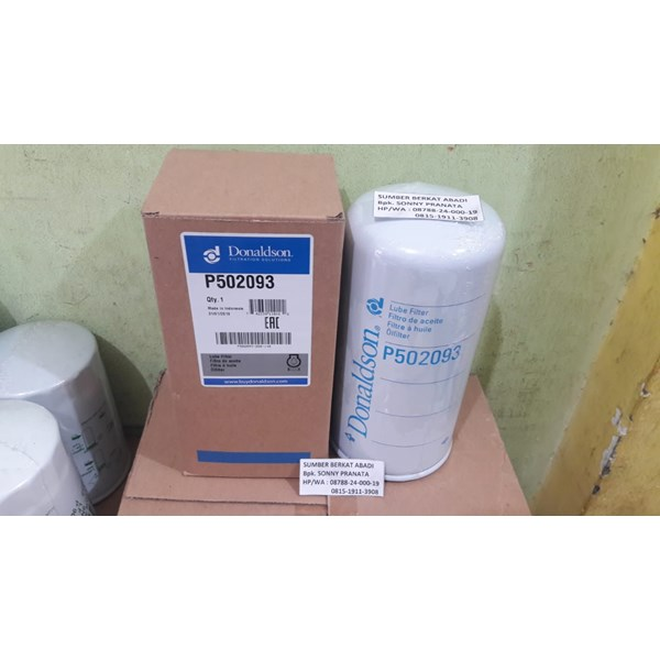 donaldson p502093 lube filter spin on combination