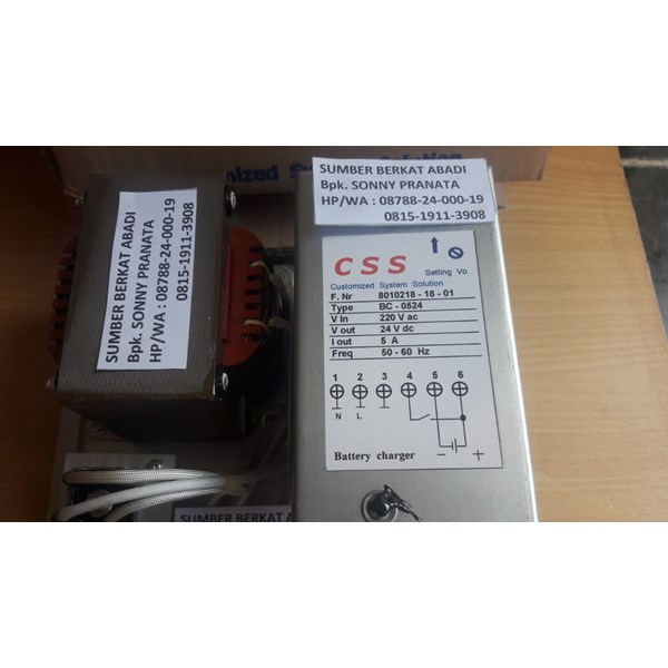 css bc 0524 battery charger big body - bergaransi 12 bulan-4