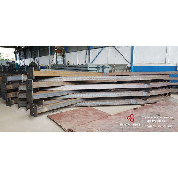 jasa bending hbeam, pipa, section bending-3