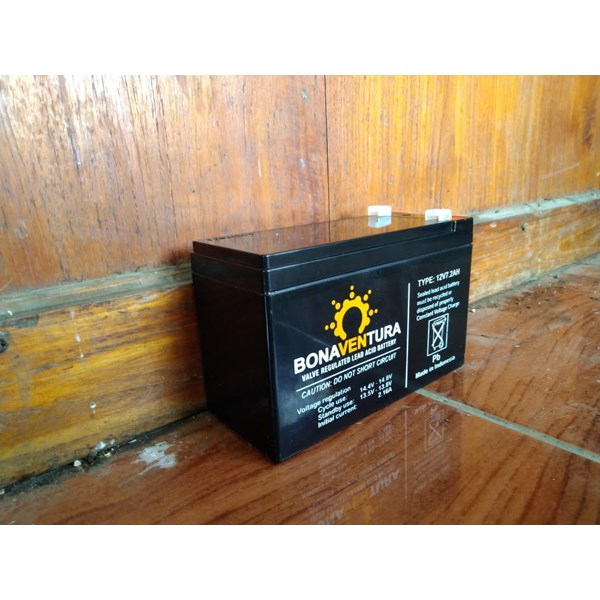 battery vrla gel bonaventura 12v 7.2-3