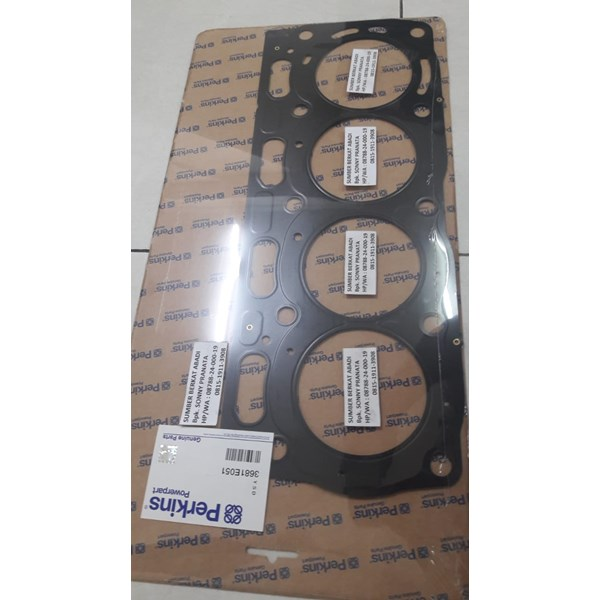 perkins 3681e051 cylinder head gasket - genuine-1