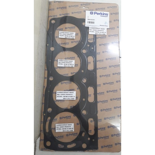 perkins 3681e051 cylinder head gasket - genuine