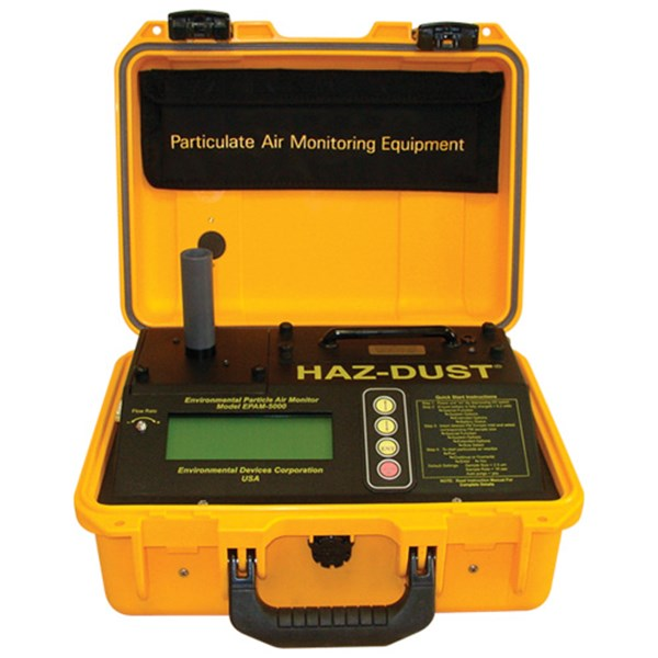 real time particulate air monitor hazdust epam 5000-1
