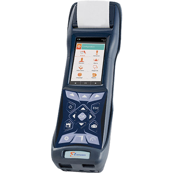 e6000 hand–held industrial emissions analyzer