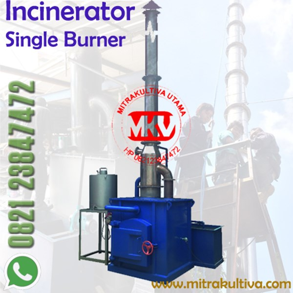 incinerator single burner 10k