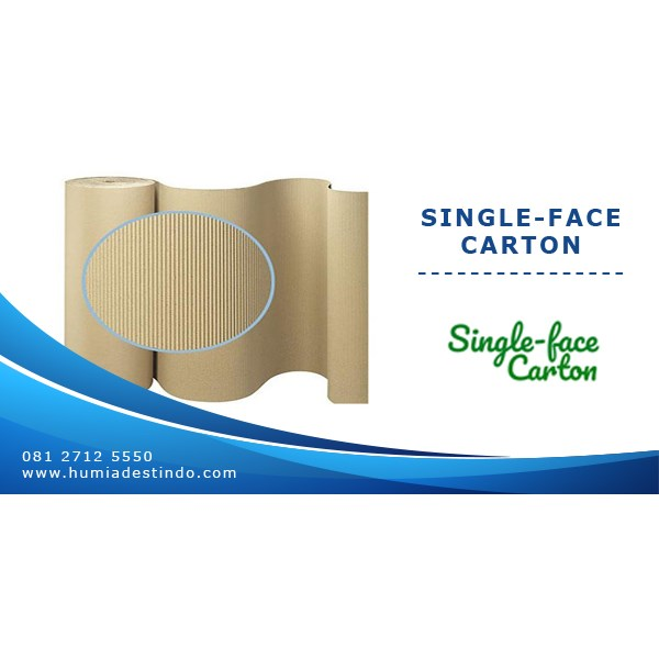 single-face carton / kertas karton gelombang-2