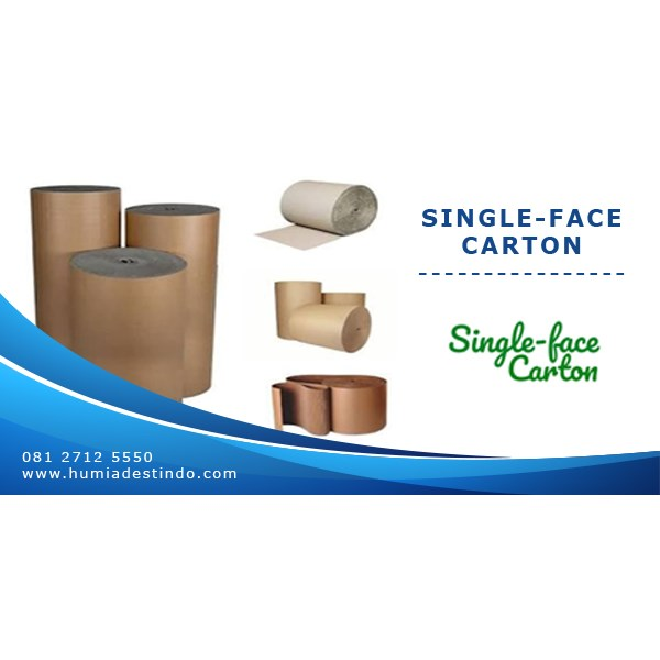 single-face carton / kertas karton gelombang-1